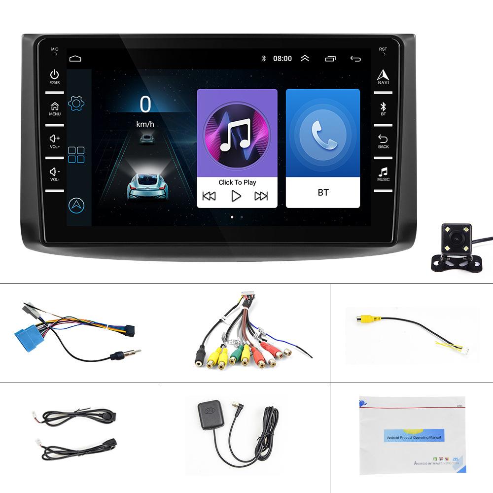 HD 8-inch Touch-Screen GPS-Navigation