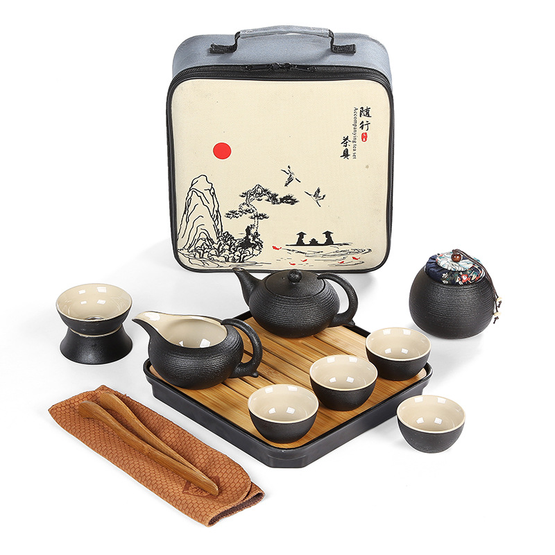 Juego de té cerámica japonesa estilo 2.