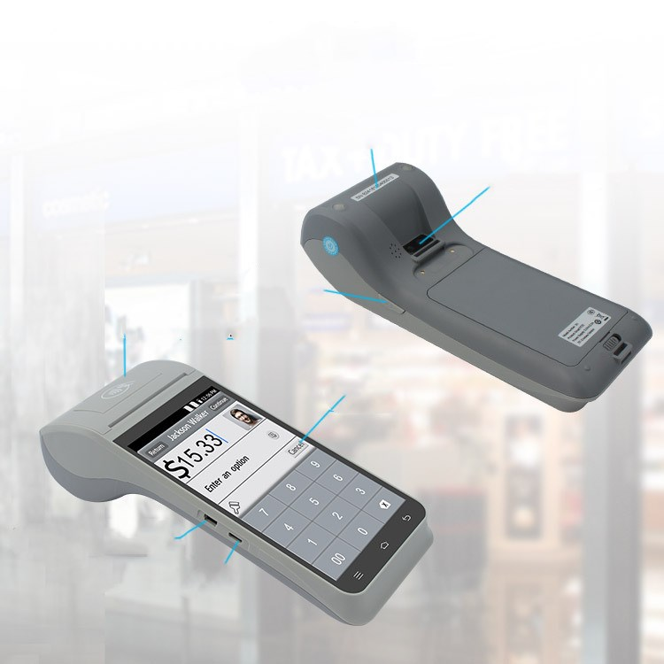 WIFI Smart cash register/point exchange machine Pos Printer