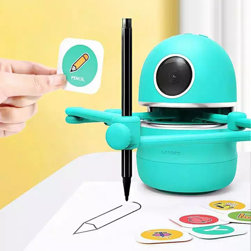 Flash Card Drawing Robot For Kids 1