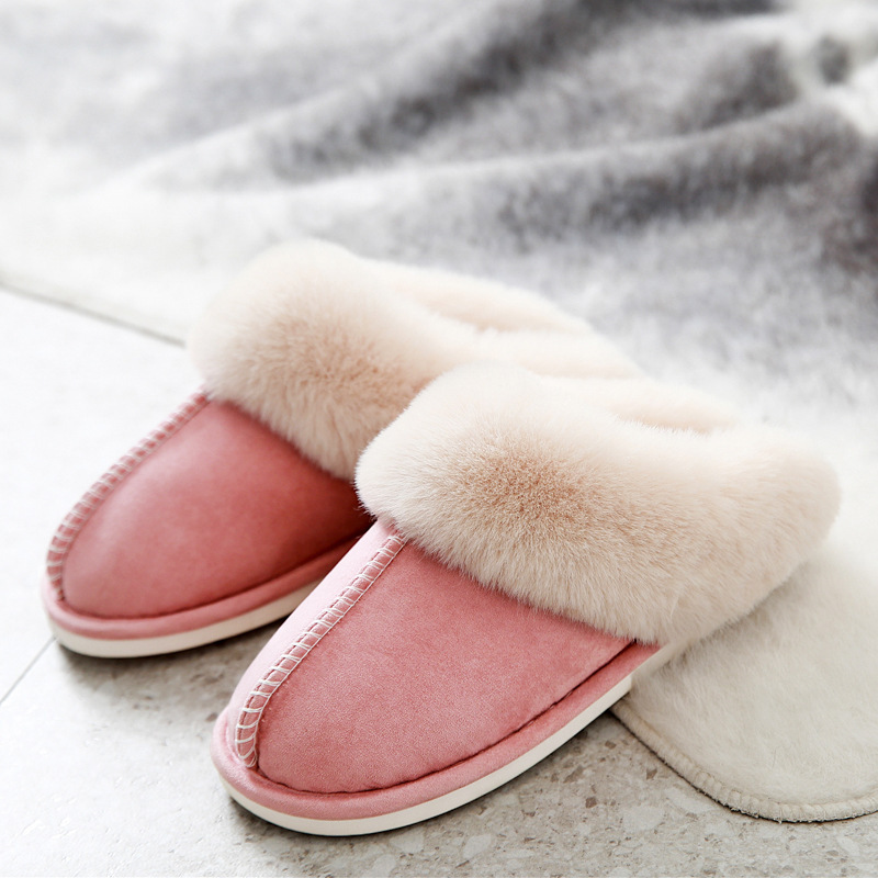 top quality Suede Cotton Slippers