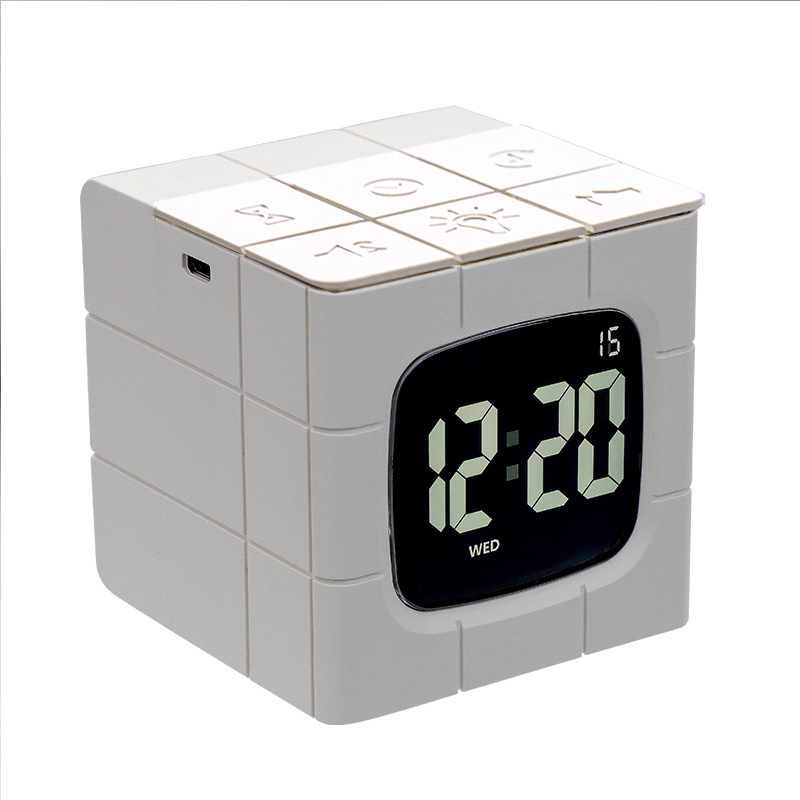 Rubiks Cube Alarm Clock 4