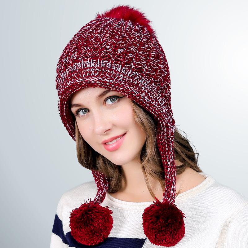 Female Warm Winter Hat