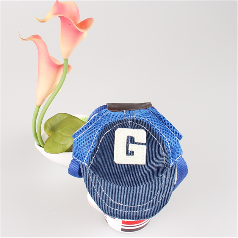 Blossom - G-shaped Embroidered Dog Baseball Hat