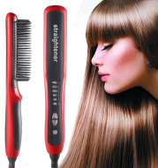 Electronic Hair Straightener Portable For Wet And Dry Straightening Ceramic Hair Styling
