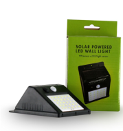 Solar Powered Censor Wall Lamp Lampu Dinding Sensor Tenaga Surya