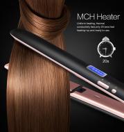 Professional hair straightener 2in1 flat iron curling straight hair fast ceramic heating