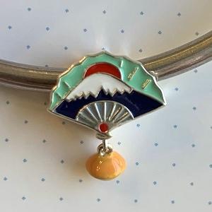 Cuenta Plata 925 Abanico japonés (Fan)