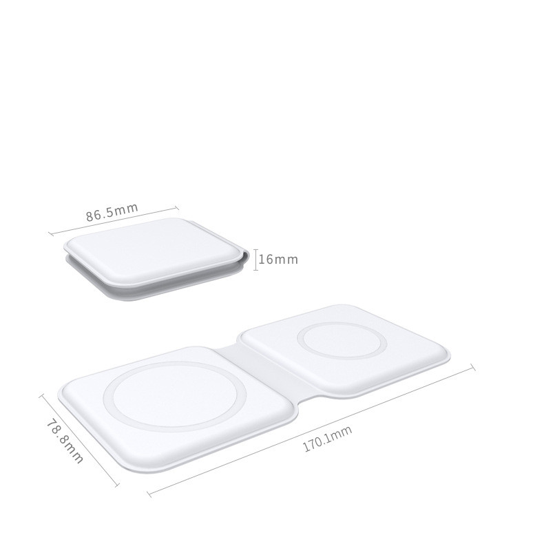 Magnetic wireless charger dimension