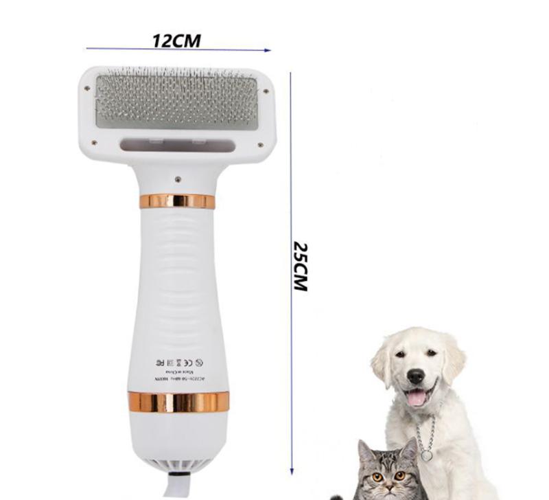 Pet grooming dryer brush   Lukkydeals
