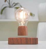 Magnetic Levitation Lamp Creativity Floating Bulb for Birthday Gift Magnet Levitating Light for Room Home Office Decoration