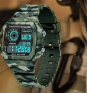 Jam Tangan Pria Army Digital Dual Time Panars
