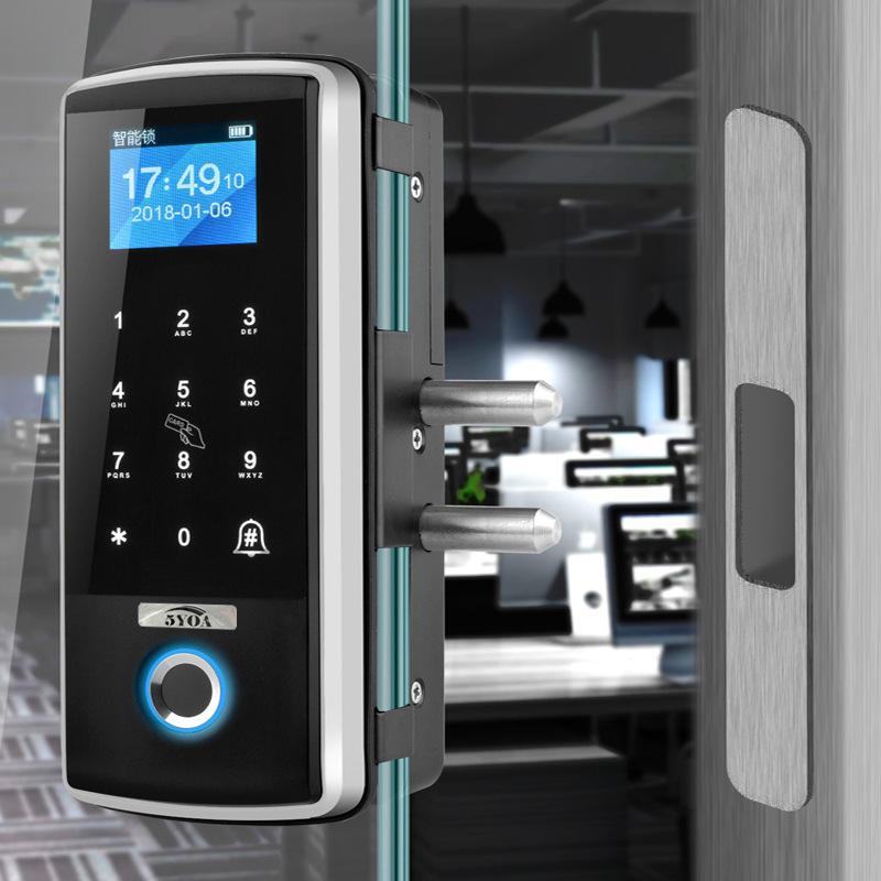 Smart Glass Door Lock