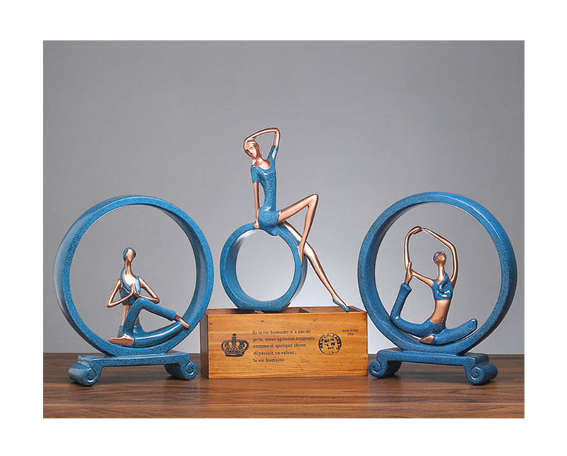 Yoga Figure Ornaments 13