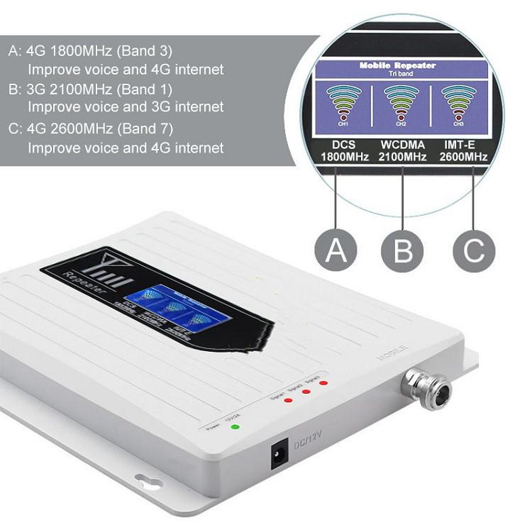 Network Signal Booster 3G&4G signal level
