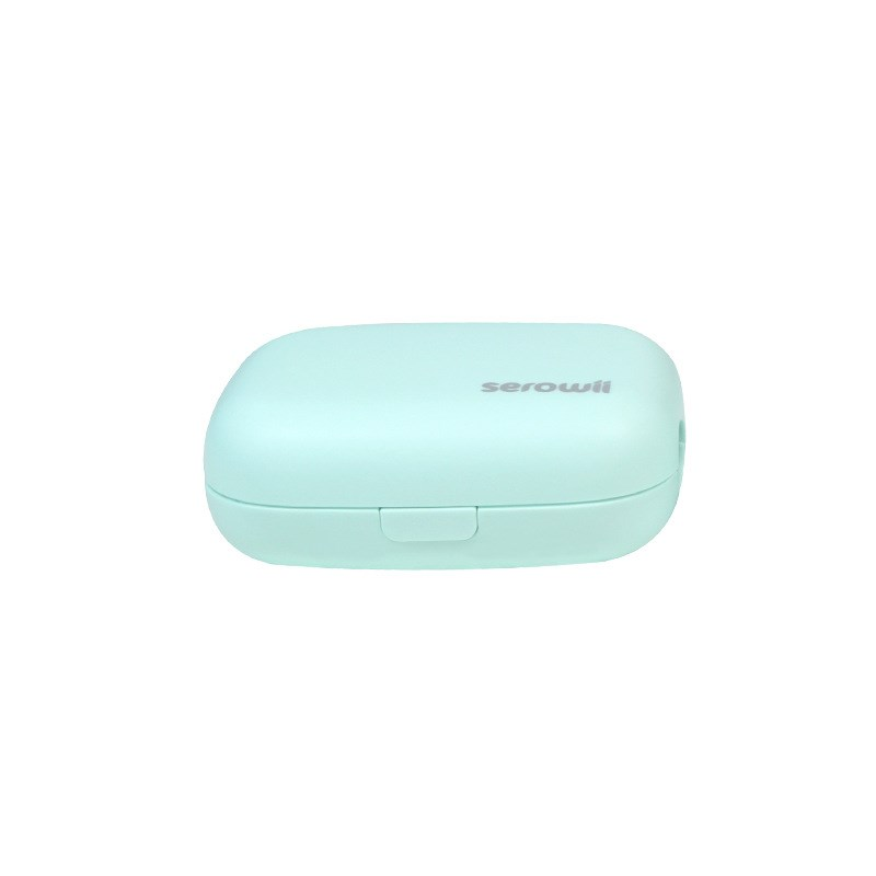 Portable Mini Toothbrush Sterilizer Case Rechargeable Household Or Traveling Use Toothbrush Holder For Both Electric and Manual Toothbrushes