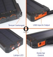 Solar Power Bank Portable 20000 mAh Powerbank