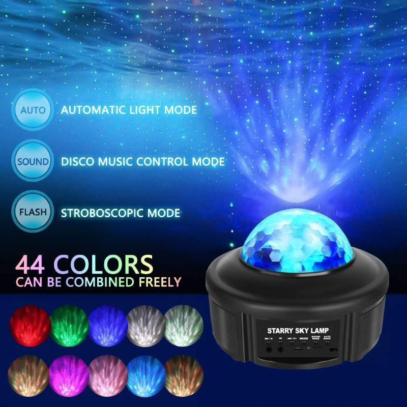 Bluetooth Music Starry Sky Projector support TF Card