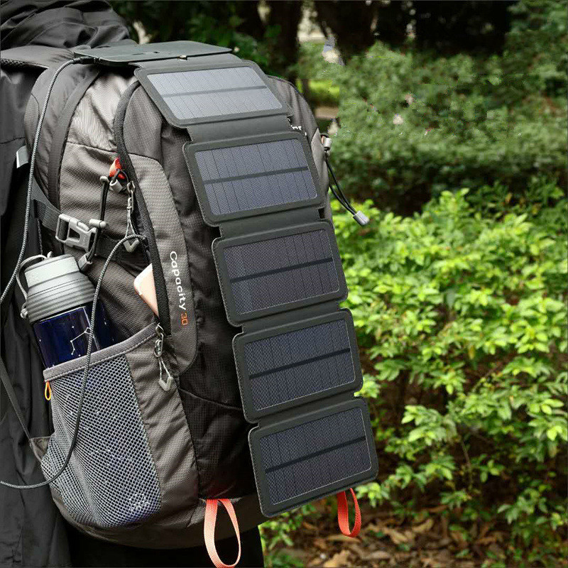 Foldable USB Solar Charger - Gadget