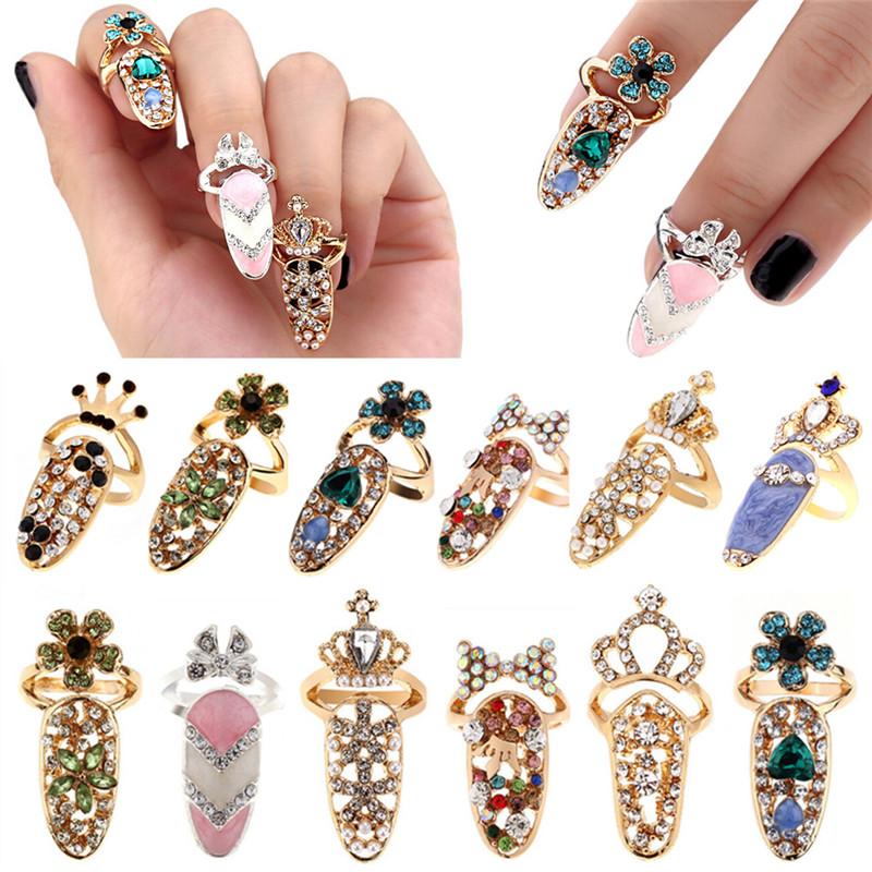 Diamond Bling Bling Fancy Nail Covers