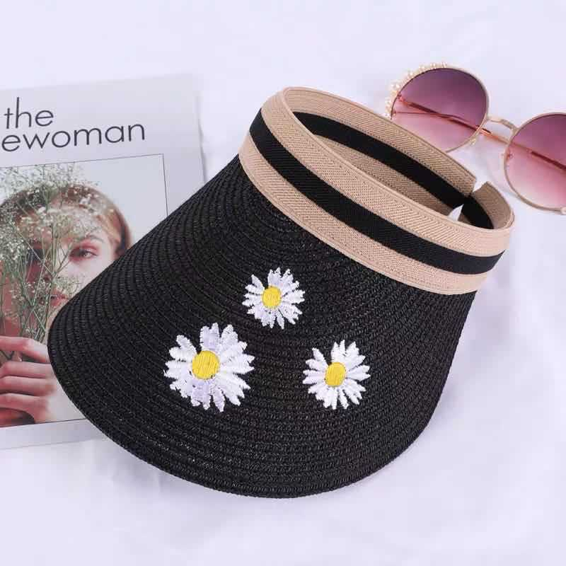 Chapeau de paille chrysanthème 7