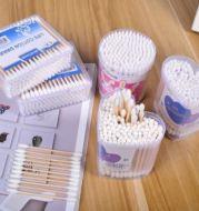 Cotton Bud Bamboo Isi 130 Pcs Cotton Swabs Pembersih Telinga