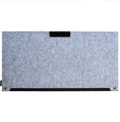 Tapis de souris XXL 630x330 matière feutrine vue produit