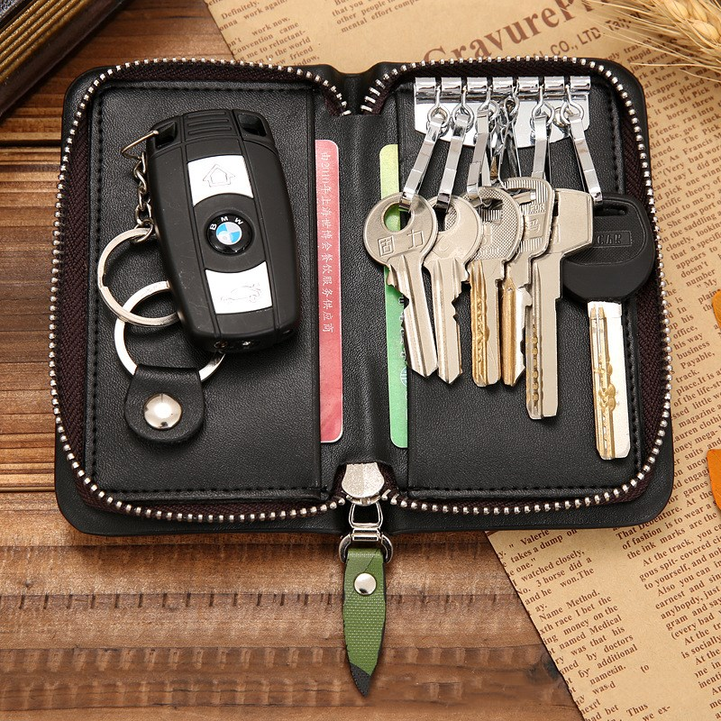 Zipper multifunction card holder allinonehere.com