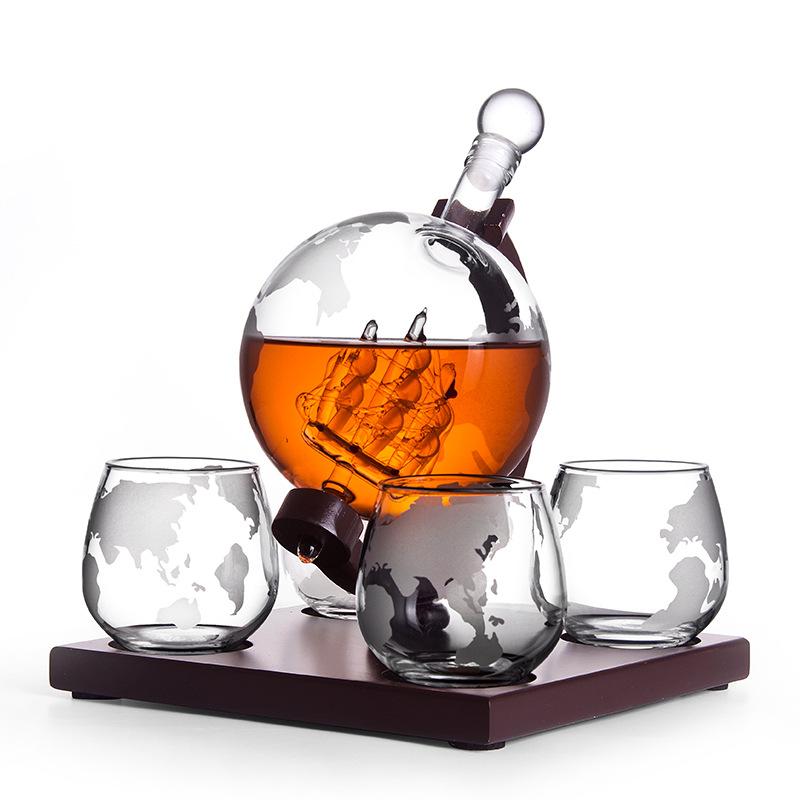 Globe Wine Container Set 14