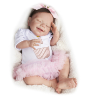 20 inches Little Elena Reborn Baby Doll, Realistic Lifelike Toy for Kid Gift Toy