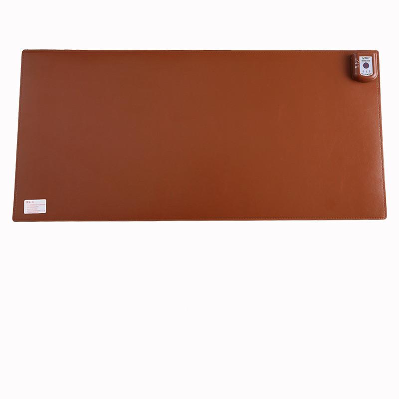 tapis de souris chauffant XXL marron