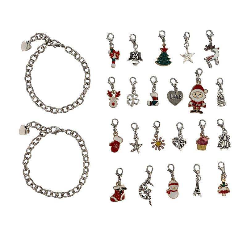 Christmas Themed Charm Bracelet Kit 5