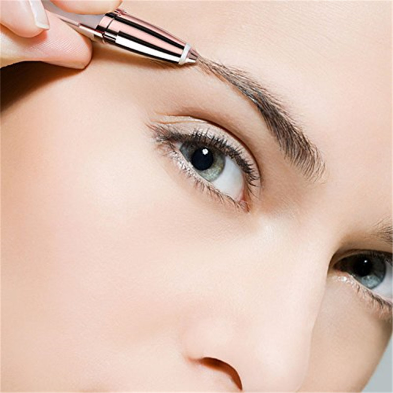 Flawlessly Brows Electric Eyebrow Remover allinonehere.com