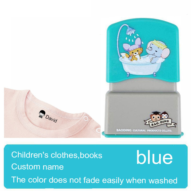Baby Name Stamp for Clothes