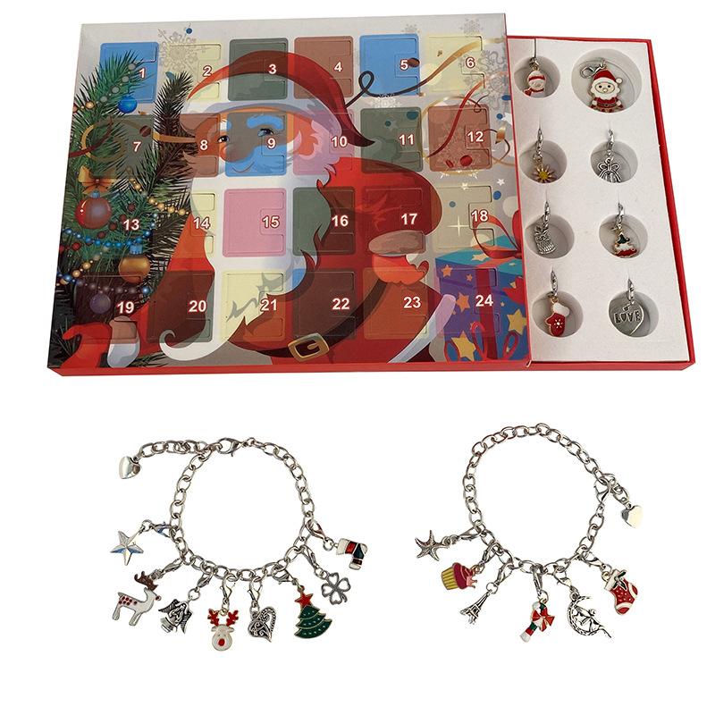 Christmas Themed Charm Bracelet Kit 9
