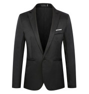 suit Korean fashion slim casual one button Blazer man