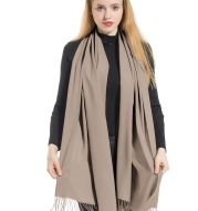 Solid Color Shawl Scarf Large & Cashmere Soft Pashmina Winter Blanket Wrap for Women