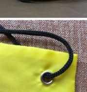 Stringbag Unisex  Tas Serut Motif SMILE Waterproof