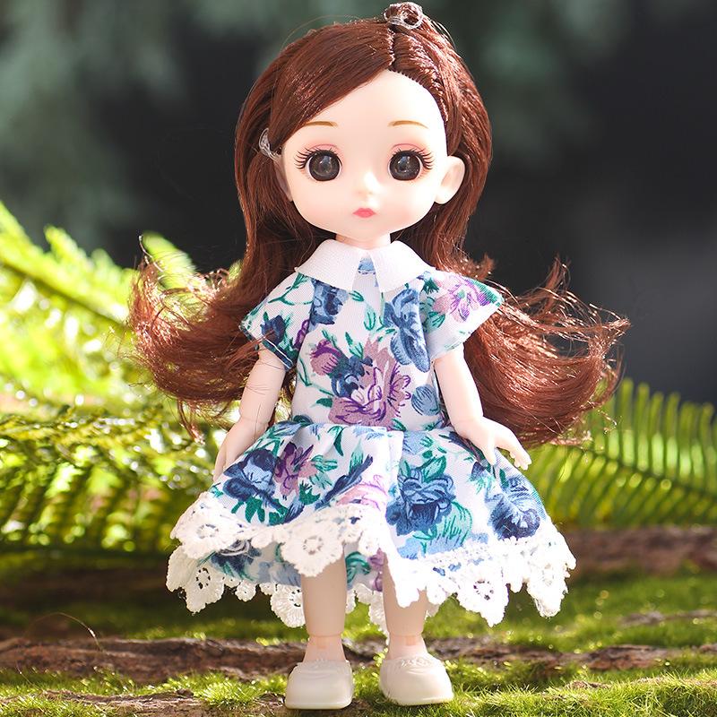 Princess Little Girl Mini Fashion Doll