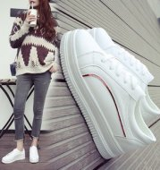 thick soled casual sports shoes